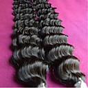 velkoobchod 8a brazilské panenský vlasy hluboká vlna 1kg 10pieces hodně nezpracované brazilské lidských prodlužování vlasů splétá color1b