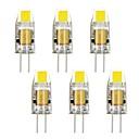 2W G4 LED klipaste žarulje T 1 COB 160-190 lm Toplo bijelo / Hladno bijelo Ukrasno DC 12 / AC 12 V 6 kom.