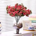 ホームデコレーション1個/セットの濃いピンクの赤ちゃんの呼吸の花の絹の花の絹の造花