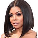 """12 """"Lidské vlasy krátké krajka bob paruky pro černé ženy přirozená barva Glueless nikdo krajka lidský vlas paruky bob"""