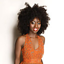 kinky kovrčava prirodna boja napravio stroj perika djevičansko brazilski ljudskih perika kosa s bebom kose za crne žene