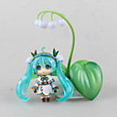 Vocaloid Snow Miku PVC One Size Figures Anime Action Jouets modèle Doll Toy