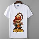 lol Liga legendi slijepi redovnik Cosplay t-shirt heroji sindikata pamuk likra