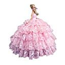 Princeza Haljine Za Barbie lutka Roza Haljine Za Djevojka je Doll igračkama