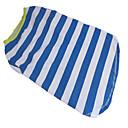 pejsky Trička Modrá Léto Çizgi zebra