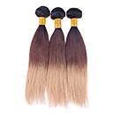 Ljudske kose plete Brazilska kosa Egyenes 4 komada kosa isprepliće