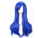 70 cm Harajuku anime šarene Cosplay perika mlade duge kovrčave kose sintetička vlasulja plavuša perika za Halloween kostim