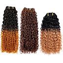 3pcs top super 100% Brazilski Kosa sirovom djevica ljudske kose plete kose potke, kinky kovrčava, 113g, prirodan šarene kose