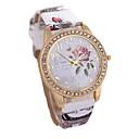 Dámské Módní hodinky Křemenný Kůže Kapela Vícebarevný Béžová 1# 2# 3#