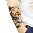 pohodě lebky tetování samolepky vánoční / nový seriál papírové květiny rok 1ks 22 * 16 * 0,1cm