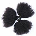 6a malayaisn afro výstřední kudrnaté vlasy panenské 3ks slunečno královna vlasové přípravky afro Kinky kudrnaté lidský vlas vazba 4b / 4c