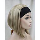 Novi modni 3/4 vlasulja s trakom za glavu ženske kratke ravne sintetičkih pola periku