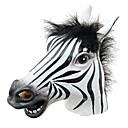 zabavno Halloween maska realno lateks konjska glava / zanimljivo smiješne strane maskenbal Maske silikon lice zebrasti masku