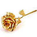 1 Větev Polyester Růže Květina na stůl Umělé květiny 16x7cm