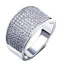 Prstenje Round Shape Moda Vjenčanje / Party / Dnevno / Kauzalni Jewelry Žene Klasično prstenje 1pc,7 / 8 / 9 Bijela / Bakrene boje