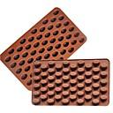 1 Pečení dort zdobení / pečení nástroje Dorty / Sušenky / Čokoládová Silikon Formičky na pečení