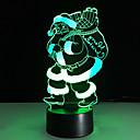 1ks touch 3 d vedl barevné vidění lampy změnit dárek atmosféra stolní lampa barevné noční osvětlení