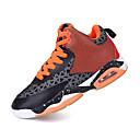 muške cipele kravlja atletski cipele košarka magic tape crna / plava / crvena