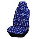 1ks 100% krytí bavlněnou látkou autosedačka Univerzální fit většina Blue Style příslušenství potah sedačky auto interiéru auta přední