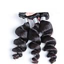 3個 ルーズウェーブ 人間の髪織り インディアンヘア 95-100g 12''-24'' 人間の髪の拡張機能