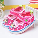 Sandale Proljeće Jesen Osvijetlite Shoes Pamuk Aktivnosti u prirodi Ravna potpetica Mašnica Ružičasta Hodanje