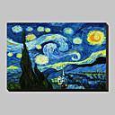 Starry Night c1889 od Vincent van Gogh Famous Reprodukce na plátně