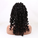 20-26 inča prirodno crna boja labav val Brazilski djevičansko ljudske kose čipke sprijeda periku s baby kosu