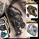 5 Tetovaže naljepnice Animal Serija / Totem Series / Others / crtani serije Non Toxic / Uzorak / Velika veličina / Waterproof / 3-DBeba /