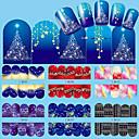 12 Nail Art naljepnica Prijenos vode Decals šminka Kozmetički Nail art dizajn
