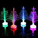 svjetlovodni božićno drvce na čelu šarene boje mala jelka slučajan odabir boje