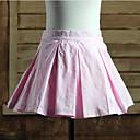 Sukně Sweet Lolita Lolita Cosplay Lolita šaty Růžová Jednobarevné Lolita Short Length Sukně Pro Dámské Bavlna