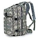 30 L Planinarski ruksaci Backpacking paketi Camping & planinarenje Putovanje Škola Outdoor KompaktanSive boje Žutomrk Crn Tamno zelena