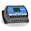 20a 12v / 24V solarna ploča Punjač baterija kontroler regulatora s usb LCD PWM