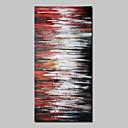 Ručně malované Abstraktní Vertikální,Abstraktní Moderní Jeden panel Plátno Hang-malované olejomalba For Home dekorace
