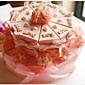 ピンク☆花飾り☆ケーキボックス(20ピース)