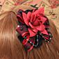 ručne crvena ruža čipkastim Gothic Lolita šlem