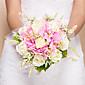 """Cvijeće za vjenčanje Krug Roses Buketi Vjenčanje Svila Narančasta 11.02 """"(Approx.28cm)"""