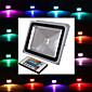 vodootporan 30W 2900lm RGB svjetlo na daljinsko upravljanje LED svjetiljka poplava (85V-265V)