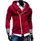 Pull à Capuche & Sweat-shirt ( Mélange de coton ) Tous les jours/Sport - Pur à Manches longues pour Pour des hommes