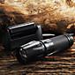 キーホルダー型フラッシュライト LED 5 モード 2200 ルーメン 焦点調整可 / 滑り止めグリップ Cree XM-L T6 18650 / 単四電池 / 26650キャンプ/ハイキング/ケイビング / 日常使用 / サイクリング / 狩猟 / 釣り / 旅行 /