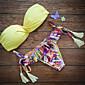 Ženski Bikini Push-up/Grudnjak sa žicom - S resicama/Jednobojni - Najlon