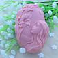 krásná vílí mýdlo plísně fondant dort čokoláda Silikonová forma, dekorace nástroje bakeware