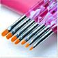 1set manikura set fototerapija olovka ljubičasta šipka ravna glava 7 paketa manikura alat veliko žuto