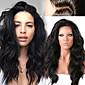 """neprerađeni 12 """"-26"""" Peruanski ljudske kose prirodna labav val puna čipke vlasulja ljudske kose perika čipke sprijeda"""