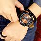 Muškarci Ručni satovi s mehanizmom za navijanje Kvarc Kronograf Koža Grupa Crna / Smeđa Brand-