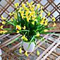 visoka kvaliteta calla ljiljan cvijet svile cvijet svile cvijeće umjetno cvijeće za uređenje doma 1pc / set