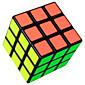 Shengshou® Glatko Brzina Kocka 3*3*3 Brzina Magične kocke Crna Fade / Obala ABS