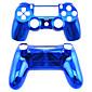 PS4コントローラーPS4の場合の交換用コントローラケースメッキ(緑/青)