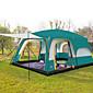 CAMEL® > 8 osoba Šator Triplu Obiteljski šatori za kampiranje Tri sobe šator za kampiranje > 3000mmVodootporno Prozračnosti Ultraviolet