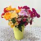 1 1 Podružnica Polyester / Plastika Peonies / Others Cvjeće za stol Umjetna Cvijeće 14.96Inch/38cm